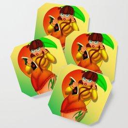 Mango Coaster