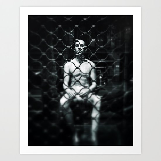 In my prison Art Print