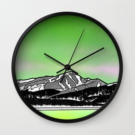 Mount Elbret Wall Clock