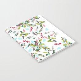 Noel Floral Notebook