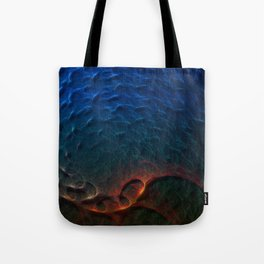 Life In The Abyss Tote Bag