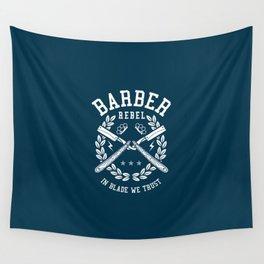 Barber Rebel, barber shop Wall Tapestry