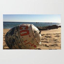 Point Dume Beach Buoy Rug