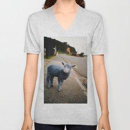 Blue? Sheep? Unisex V-Neck