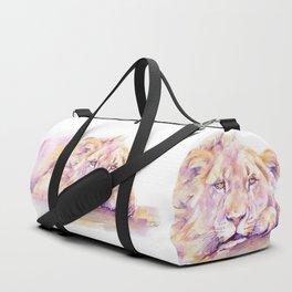 Lion _ Too hot to hunt Duffle Bag