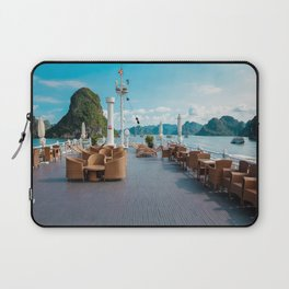 Terace of a boat Laptop Sleeve