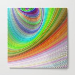Color illusion Metal Print