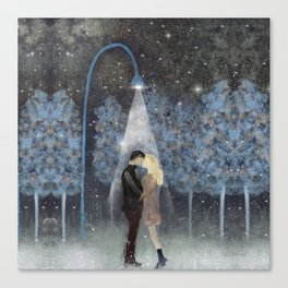 That magic moment Canvas Print