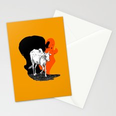 COW IS GOD Stationery Cards