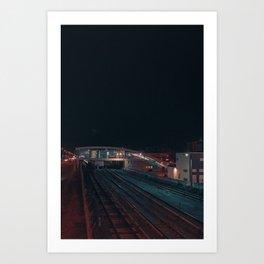 Space mirage Art Print