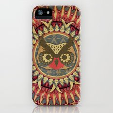 Vintage Owl Slim Case iPhone (5, 5s)