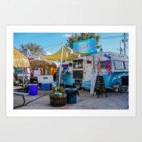 trailer park boys Art Prints featuring Austin Trailer Park by Chee Sim