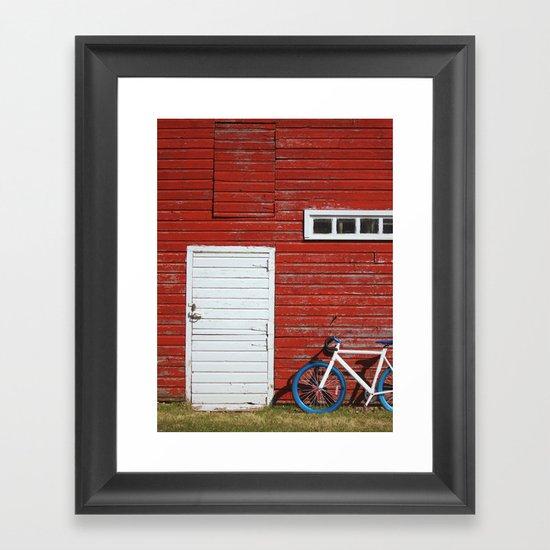Urban Meets Rural Framed Art Print