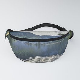 Cool Aqua Lake Fanny Pack