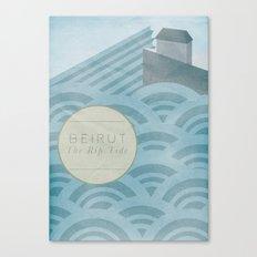 The Rip Tide Canvas Print