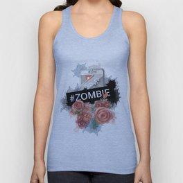 #zombie Unisex Tank Top