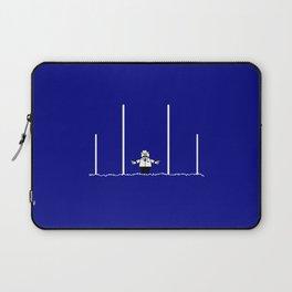 AFL Football Goal Umpire Laptop Sleeve