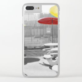 Coney Island photography Clear iPhone Case