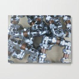 Copper and Chrome Smart Art - FredPereiraStudios.com_Page_04 Metal Print