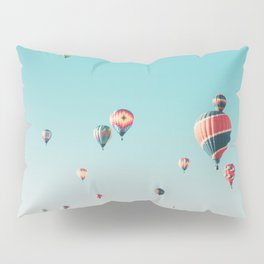 Hot Air Balloon Ride Pillow Sham