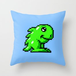 Hoi Amiga game sprite Throw Pillow