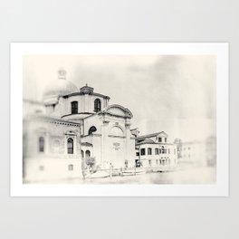 Venice - Study 9 Art Print