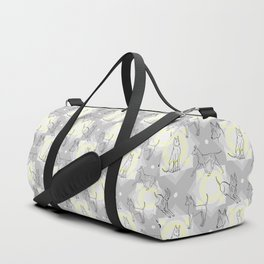 Thai Ridgeback Pattern Duffle Bag