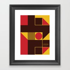 If You Dig a Hole Framed Art Print
