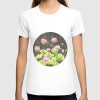 lotus flower T-shirts featuring Lotus by Carla Adol