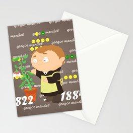 Gregor Mendel Stationery Cards