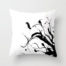 Scatter Throw Pillow