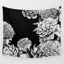 FLOWERS IN BLACK AND WHITE by magic-dreams
