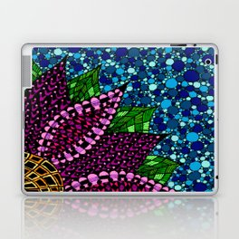 Stained Glass Flower Laptop & iPad Skin