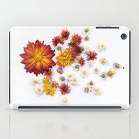 leah flores iPad Cases featuring FLORES by Miles of Light