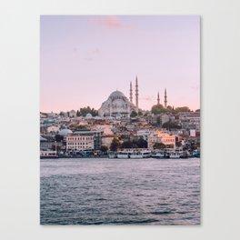 Dreamy Istanbul Canvas Print