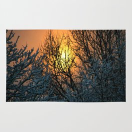 The Sun Shines Forth Rug