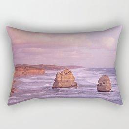Gog and MaGog At Sunset. 12 Apostles Along The Great Ocean Road. Rectangular Pillow