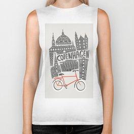 Copenhagen Cityscape Biker Tank