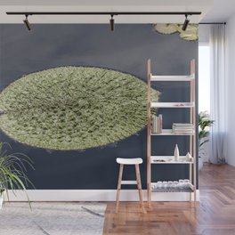 Crinkle Lily Pad Wall Mural
