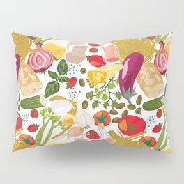 Fresh Italian Market Food Pillow Sham