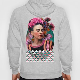 Flowery Frida Hoody