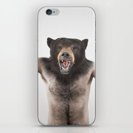 Therianthrope - Angry Bear iPhone Skin