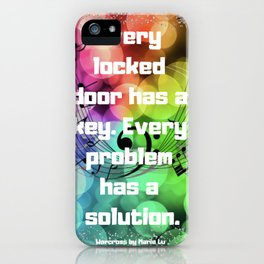 Warcross Quote iPhone Case
