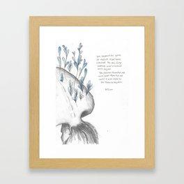 You Showed Me  Framed Art Print