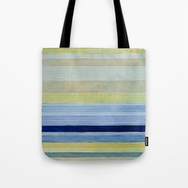 Colorbands Daylight Blue and Yellow Tote Bag