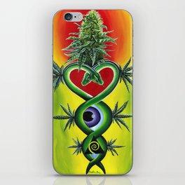 Cannabis Medicine iPhone Skin