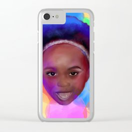 M A D I S O N  <3 Clear iPhone Case