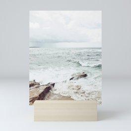Wind and Sea Beach Mini Art Print