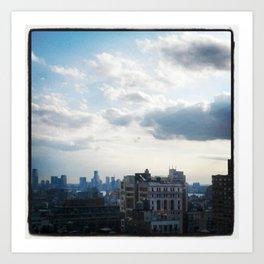 NYC Cityscape Art Print