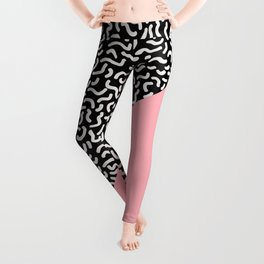 Pop Art Pattern 8 Leggings